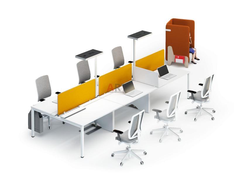 Flexi une gamme pour open space et call center design marseille