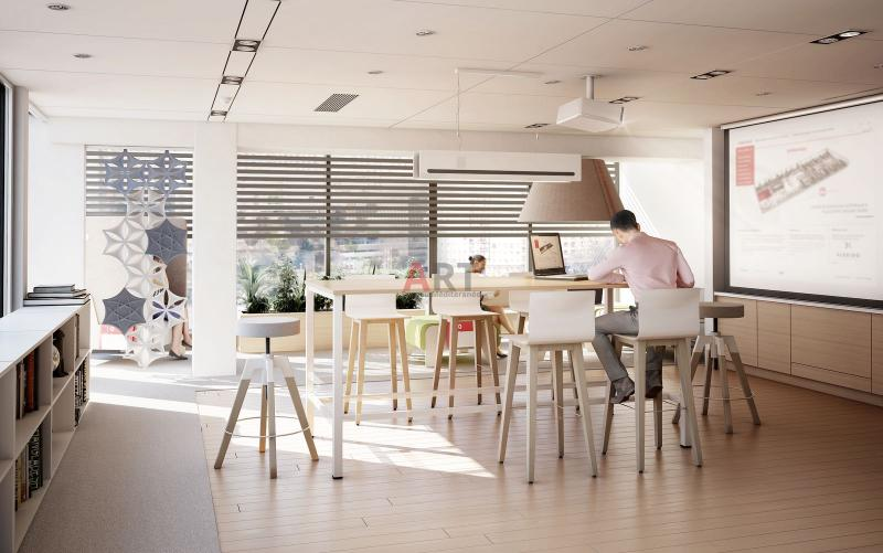 Flexi une gamme pour open space et call center design marseille