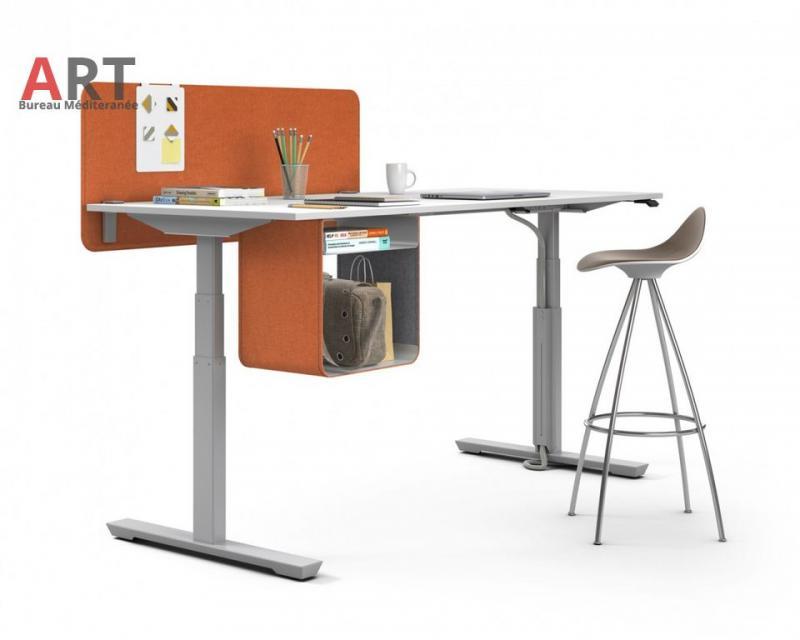 Bureau ergonomique réglable en hauteur électrique