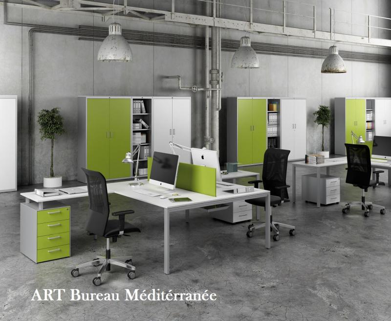 Mobilier de bureau administratif oprateur secrtaire modulaire